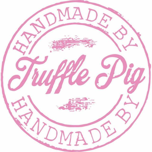Logo for Truffle Pig Vegan