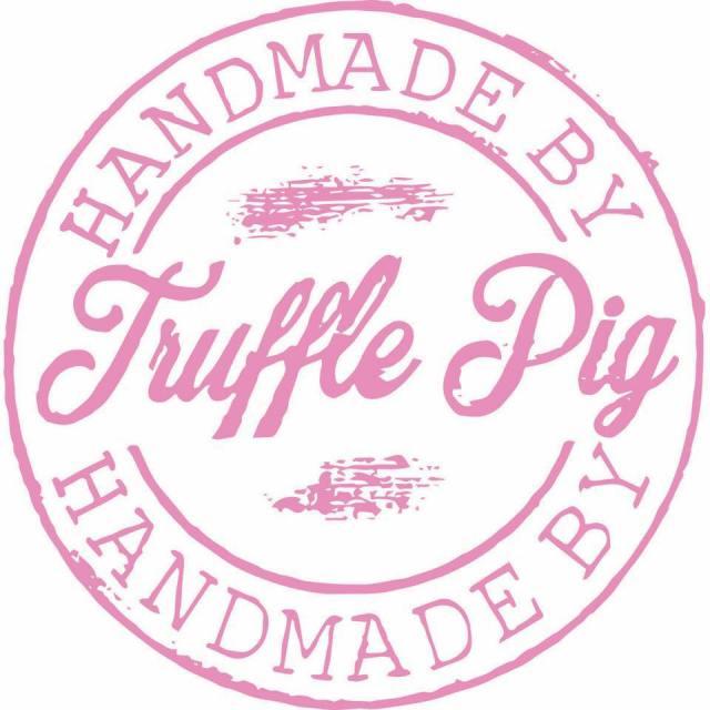 Logo for Truffle Pig Vegan
