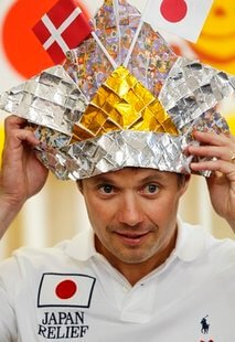Tin-foil hats for Japan!