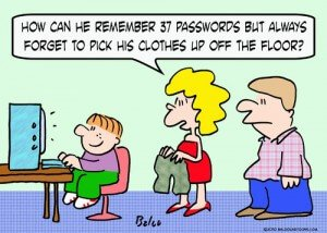 How do you remember your passwords?