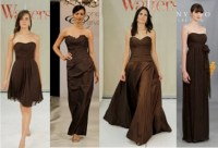 Brown Bridesmaid Dresses | Fall 2011 Trends | Espresso ...