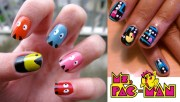 video game nails nintendo nail