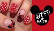 disney themed nails nail