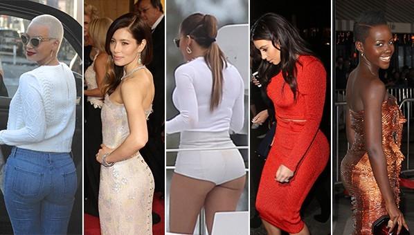 celebrity butts