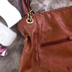 How To Get Rid Of Ink Marks On Leather Sofa Cinnamon Sectional An Stain Out A Purse Hack