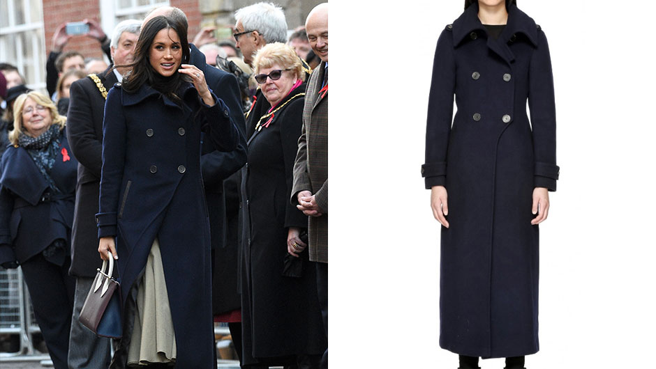92567057038 Call it the Meghan Markle effect! Just days after the news of her  engagement to Prince Harry broke (and her white wool coat went viral), the  future princess ...