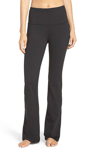 'Barely Flare Booty' High Waist Pants
