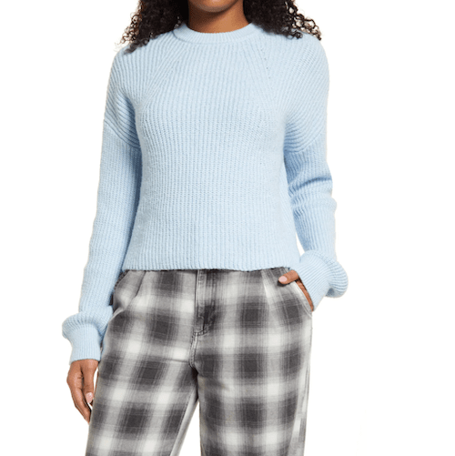 Nordstrom ribbed sweater