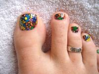 30 Fancy and Cool Toe Nail Designs 2017 - SheIdeas
