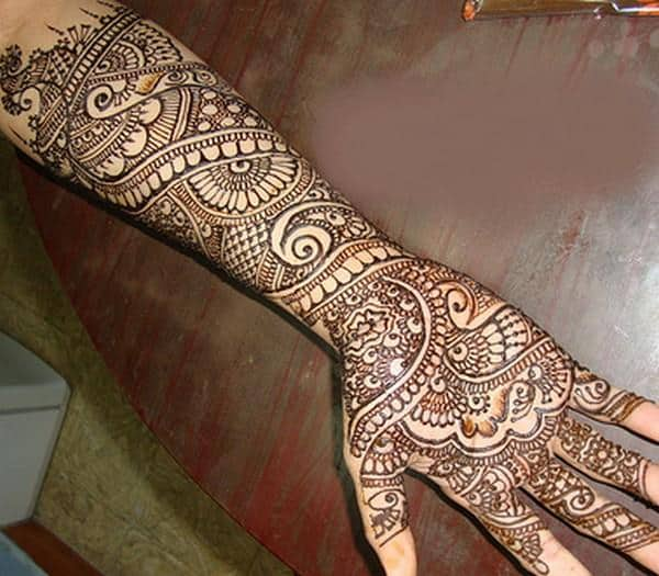 Full Hand Arabic Mehndi Design 2019