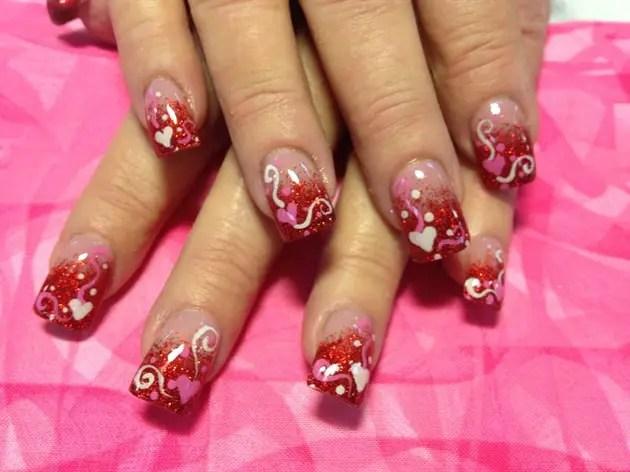 Valentines Day Nail Art Designs 28