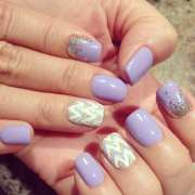 cool gel nail design