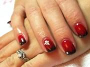 cool gel nail design