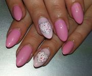 cute valentines day nails design