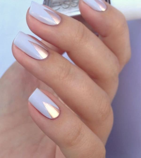 30 Cool Easy Nail Polish Designs 2017