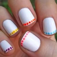 30 Cool Easy Nail Polish Designs 2017 - SheIdeas