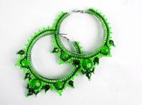 20 Dazzling Beaded Earrings Ideas
