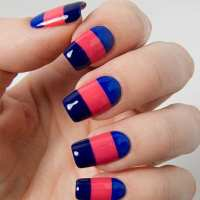 25 Beautiful and Simple Nail Art Designs - SheIdeas