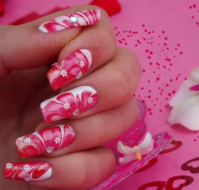 20 Amazing Water Nail Art Ideas Collection