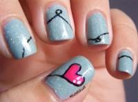 22 Cute Heart Nail Designs Images for Girls - SheIdeas