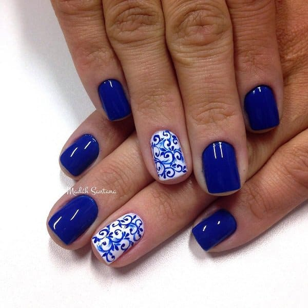 15 Cool Blue Nail Designs That Will Inspire You