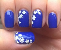 15 Cool Blue Nail Designs That Will Inspire You - SheIdeas