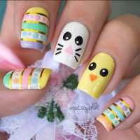 A Showcase of Cute Easter Nail Art Designs - SheIdeas