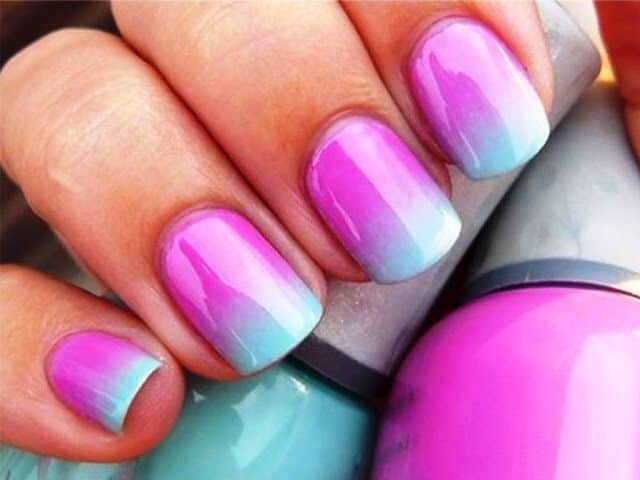 Ombre Nail Color Combos Usefulresults