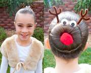 beautiful christmas hairstyles