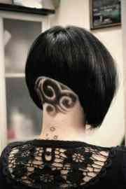 cool hair tattoo design
