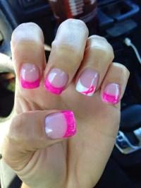 15 Awe-inspiring Breast Cancer Nails Ideas - SheIdeas