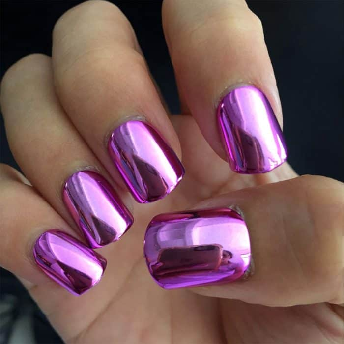 32 Cute Hot Pink Nail Designs Pictures