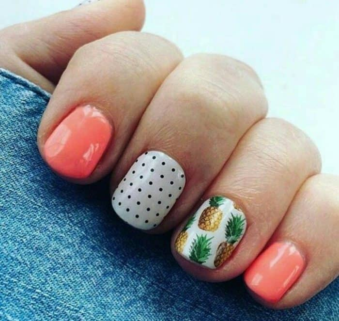 Gel Nail Designs Holiday