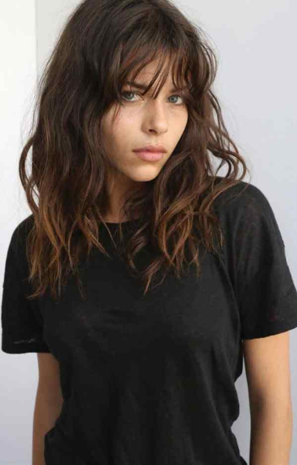 30 Shoulder Length Hairstyles With Bangs 2018 Hairstyles Ideas