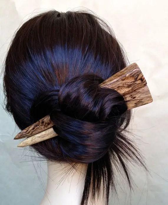 30 Asian Hairstyles Bun Sticks Hairstyles Ideas Walk The Falls