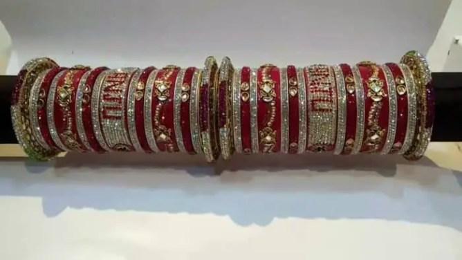 bridal chura designs