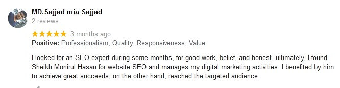 Digital Marketing and SEO Customers Review