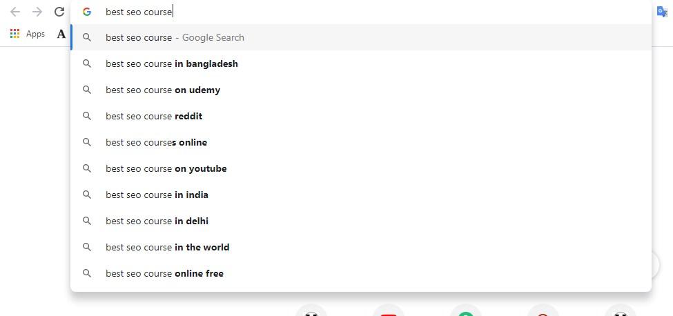 Google-autosuggestion-keyword