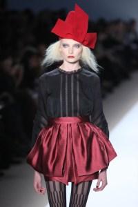 Image of fashion model