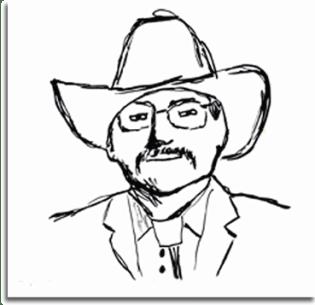 Cowboy-Sketch