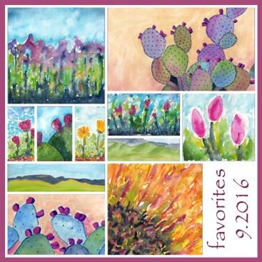 Sheila Delgado - Favorite pieces from 9. 2016 challenge