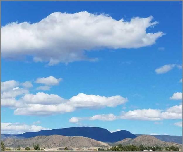 Big Blue. Mingus Mountain. SMD
