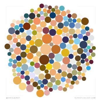Year of Colour 2018. Sheila Delgado