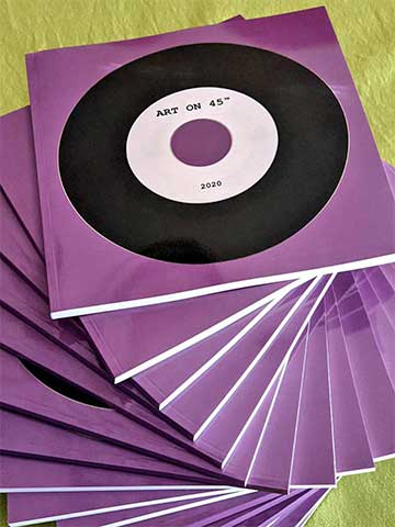 Art On 45 Book, 2020 Edition. Photographed and designed by Markus Wobisch.
