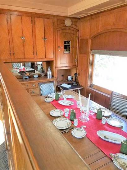 Roald Amundsen Pullman Car