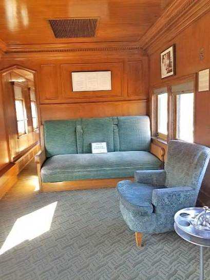 Sitting Area, Roald Amundsen Pullman Car