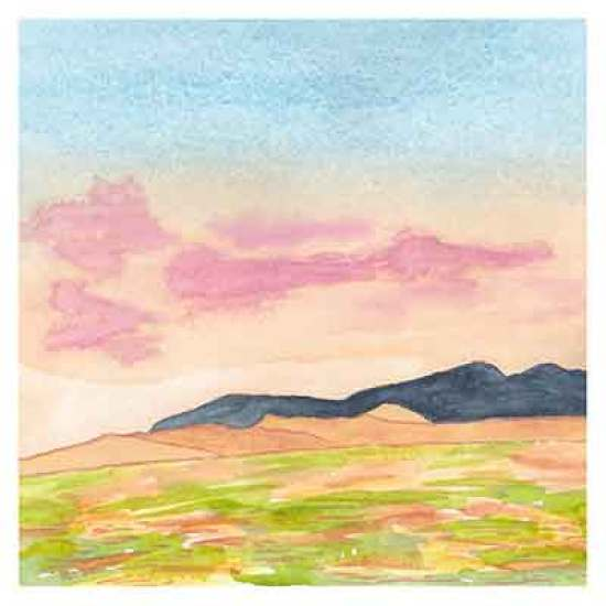Day 9, Watercolor on 8 x 8 140 lb. Strathmore Cold Pressed Paper. © 2021 Sheila Delgado.