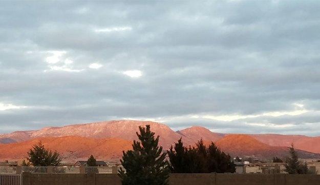 Mingus Sunset, 3.16.21. © 2021 Sheila Delgado.