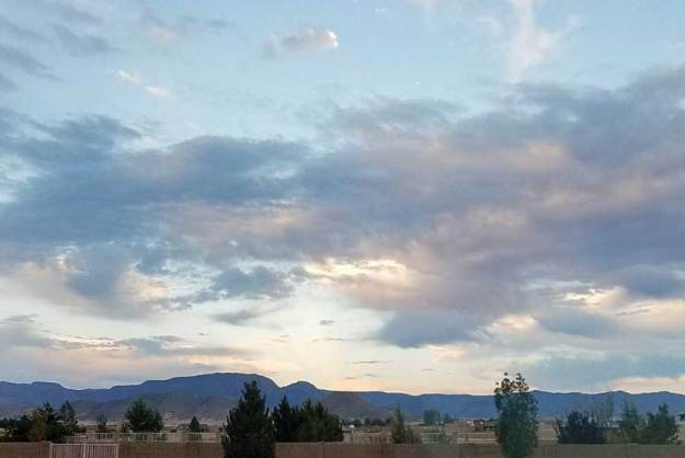 Mingus Sunrise, 10-4-21. SMD