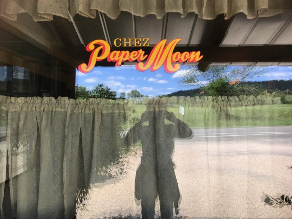 Paper Moon Diner window